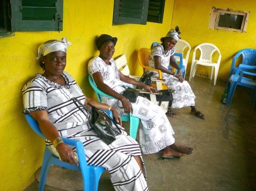 Ghana Funeral Ladies
